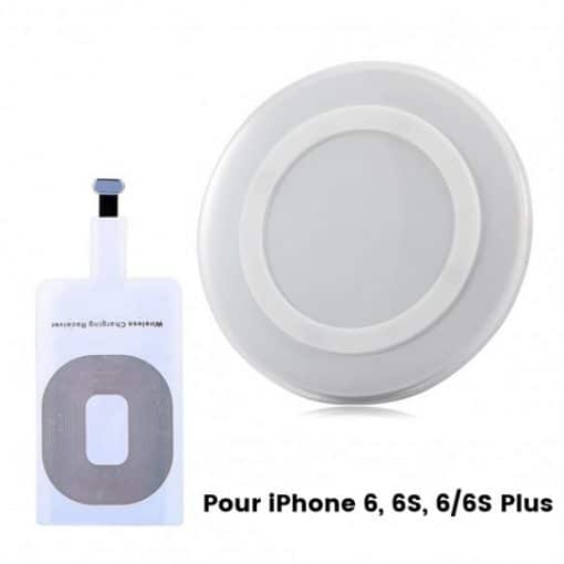 Base + Récepteur pour iPhone 6, 6S, 6 Plus