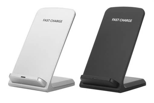 chargeur sans fil inclinable pour iphone