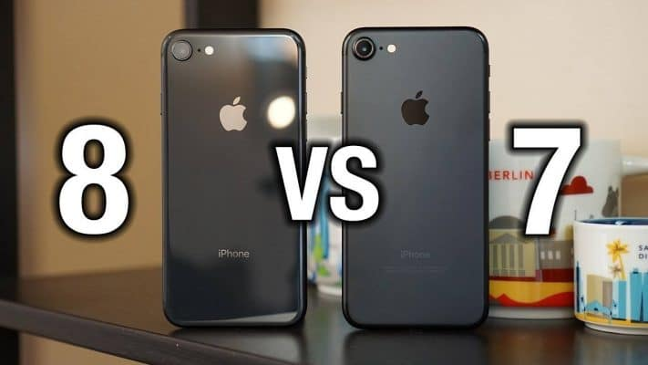 IPhone 7 contre IPhone 8