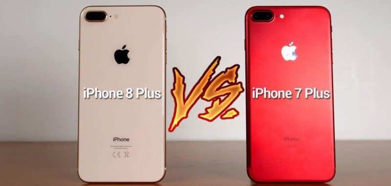 IPhone 7 contre IPhone 8 les autres points qui font leur différence