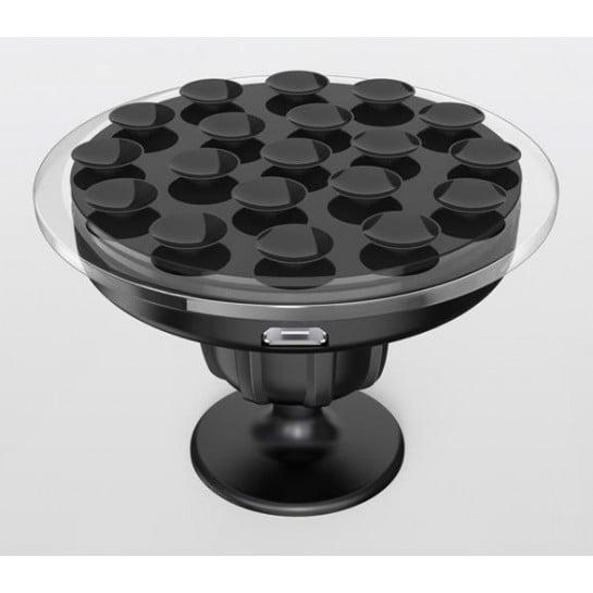 chargeur qi universel pour voiture chargeur induction. Black Bedroom Furniture Sets. Home Design Ideas