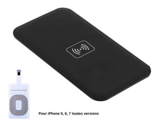 pack base recepteur ultra fin pour iphone