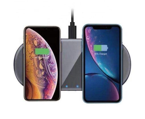 Chargeur Double à induction sans fil 2 x 15 watts