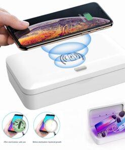 Chargeur induction avec sterilisateur UV