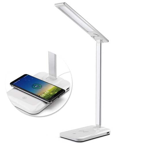 Lampe led avec chargeur induction