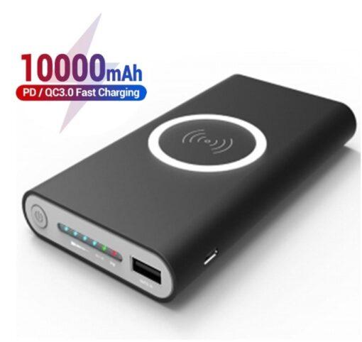 Batterie externe sans fil à recharge induction